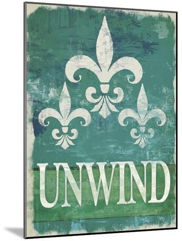 Renew - Unwind II--Mounted Art Print