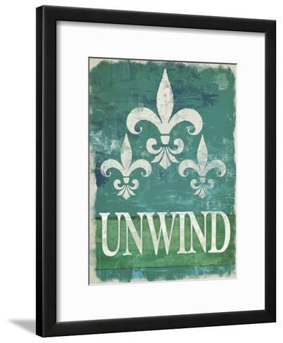 Renew - Unwind II--Framed Art Print