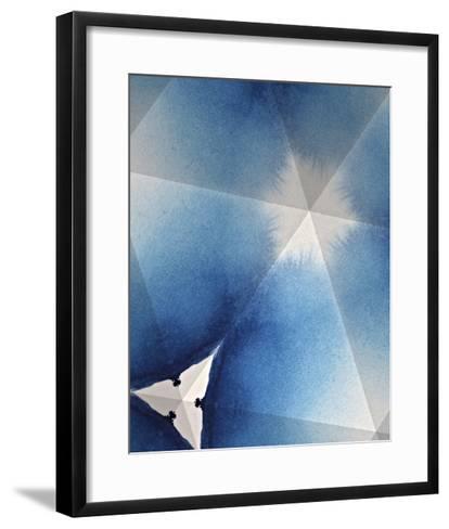 Indigo Daydream I-Renee W^ Stramel-Framed Art Print