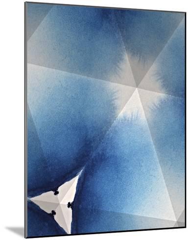 Indigo Daydream I-Renee W^ Stramel-Mounted Giclee Print