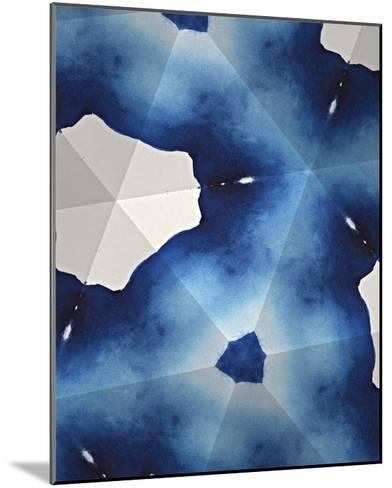 Indigo Daydream III-Renee W^ Stramel-Mounted Giclee Print