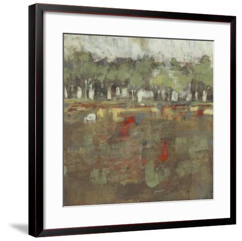 Marsh Plane I-Jennifer Goldberger-Framed Art Print