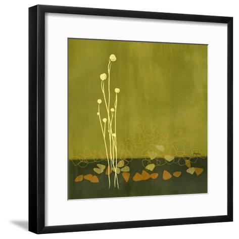 River Rocks I--Framed Art Print