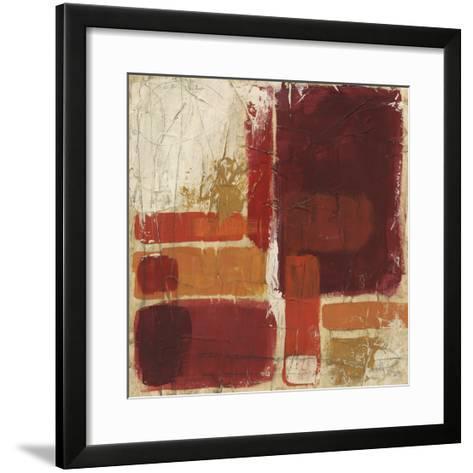 Overlap II-June Erica Vess-Framed Art Print