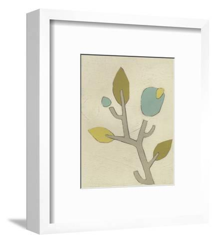 Simple Stems IV-June Erica Vess-Framed Art Print