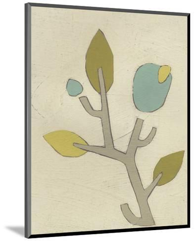 Simple Stems IV-June Erica Vess-Mounted Art Print