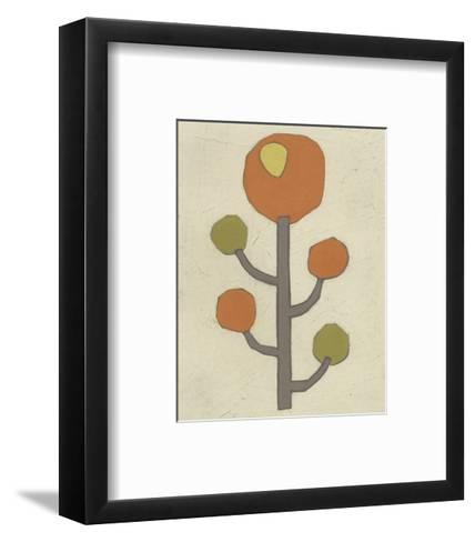 Simple Stems IX-June Erica Vess-Framed Art Print