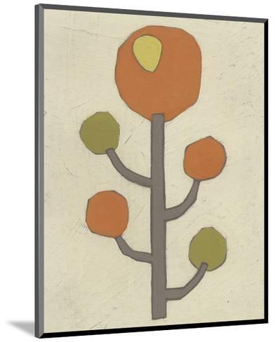 Simple Stems IX-June Erica Vess-Mounted Art Print