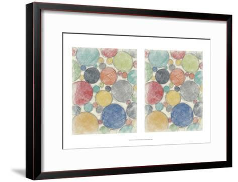 Twirl II 2-Up-Chariklia Zarris-Framed Art Print