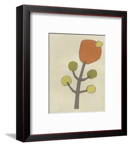 Simple Stems VII-June Erica Vess-Framed Art Print