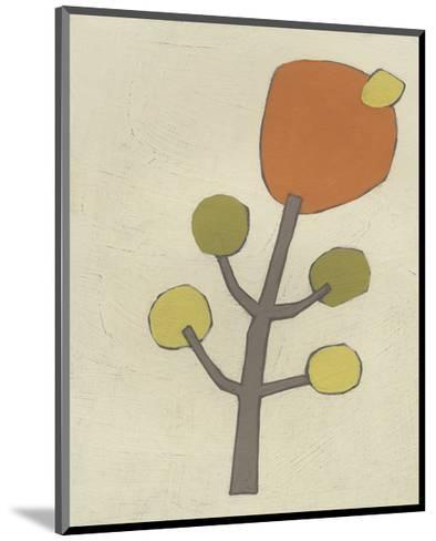Simple Stems VII-June Erica Vess-Mounted Art Print