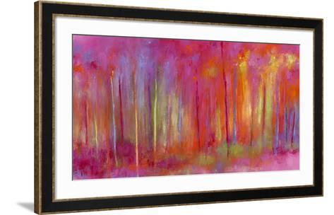 Stopping by Woods to Celebrate-Janet Bothne-Framed Art Print
