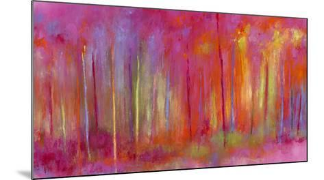 Stopping by Woods to Celebrate-Janet Bothne-Mounted Giclee Print