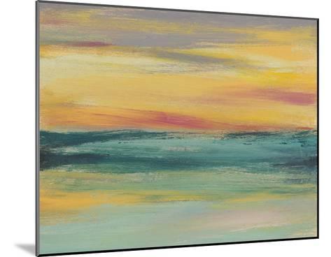Sunset Study III-Jennifer Goldberger-Mounted Giclee Print