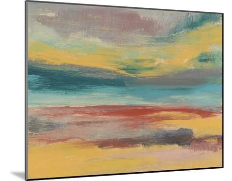Sunset Study IX-Jennifer Goldberger-Mounted Giclee Print