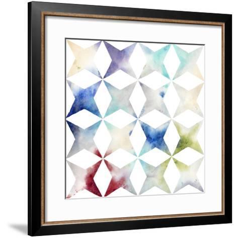 Pattern Blur II-Megan Meagher-Framed Art Print