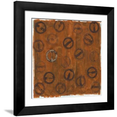 Rusted Imprint II-Jenna Guthrie-Framed Art Print