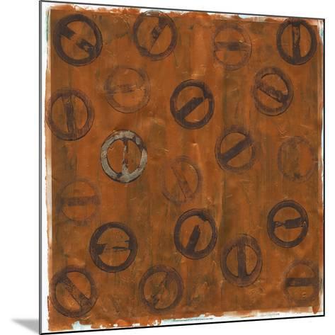 Rusted Imprint II-Jenna Guthrie-Mounted Art Print