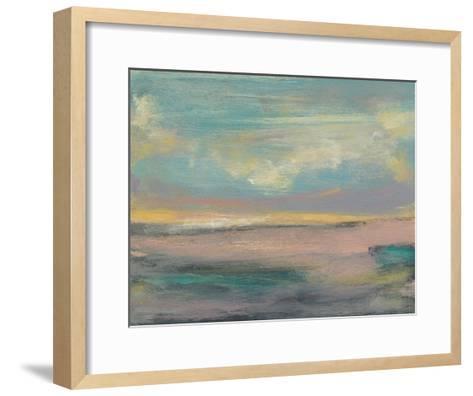 Sunset Study VI-Jennifer Goldberger-Framed Art Print