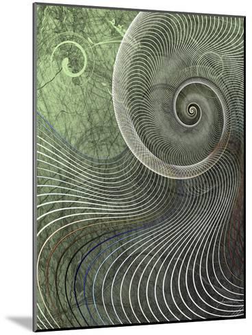 Surround II-James Burghardt-Mounted Art Print