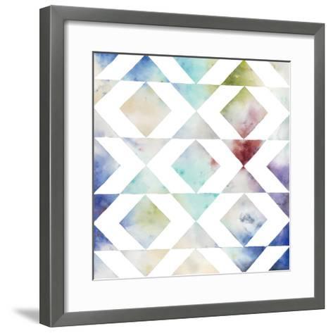 Pattern Blur IV-Megan Meagher-Framed Art Print