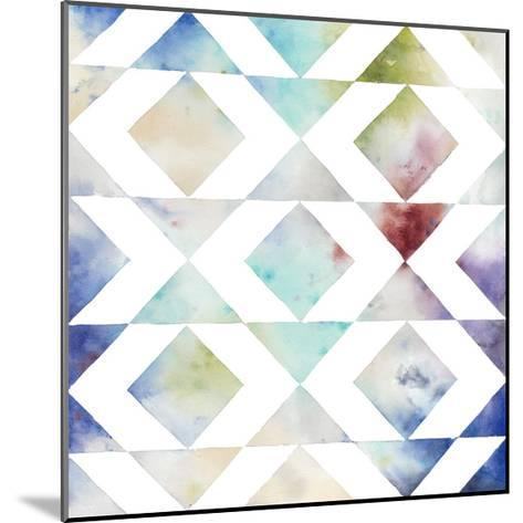 Pattern Blur IV-Megan Meagher-Mounted Limited Edition