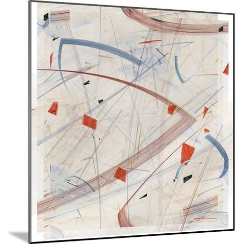 Vectora Panel II-James Burghardt-Mounted Giclee Print