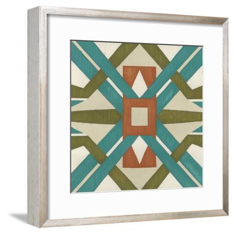Global Motif I-June Erica Vess-Framed Art Print