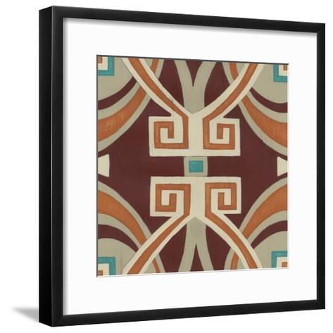 Global Motif VI-June Erica Vess-Framed Art Print