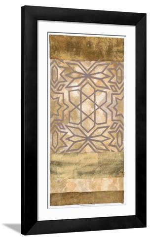 Golden Canyon I-Chariklia Zarris-Framed Art Print