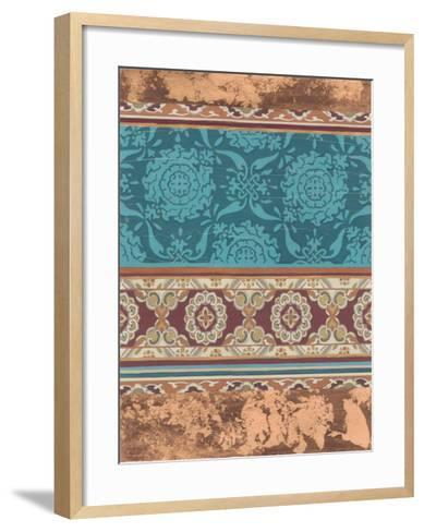 Heirloom Motif III-June Erica Vess-Framed Art Print