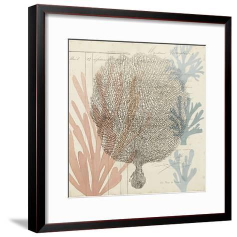 Sea Ephemera I-Grace Popp-Framed Art Print