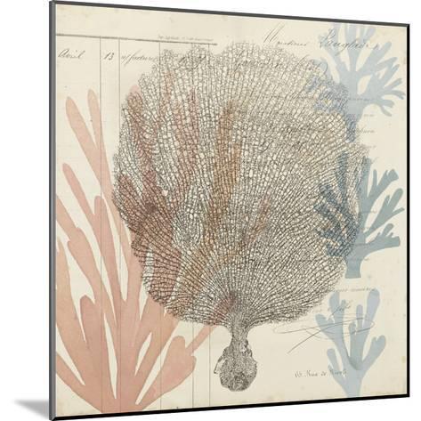 Sea Ephemera I-Grace Popp-Mounted Art Print