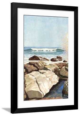 Sea Spray I-Dianne Miller-Framed Art Print