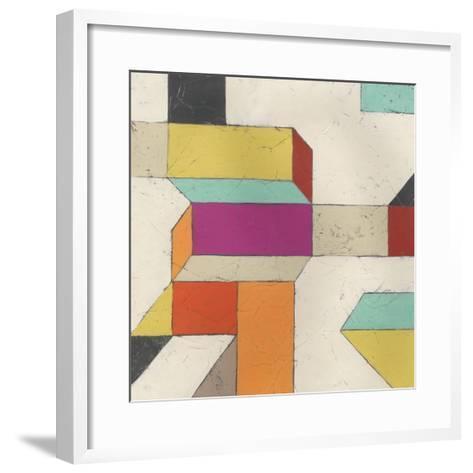 Tessellate I-June Erica Vess-Framed Art Print