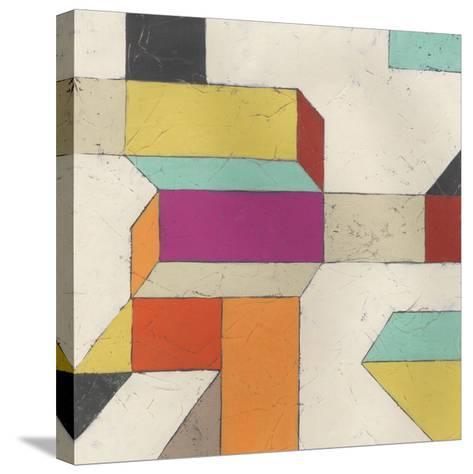 Tessellate I-June Erica Vess-Stretched Canvas Print