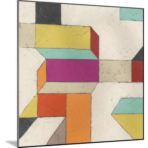 Tessellate I-June Erica Vess-Mounted Art Print