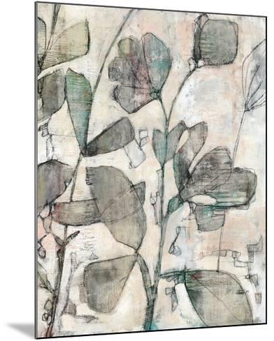 Negative Space Floral II-Jennifer Goldberger-Mounted Limited Edition