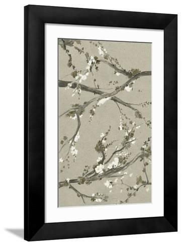 Neutral Cherry Blossoms I-Grace Popp-Framed Art Print