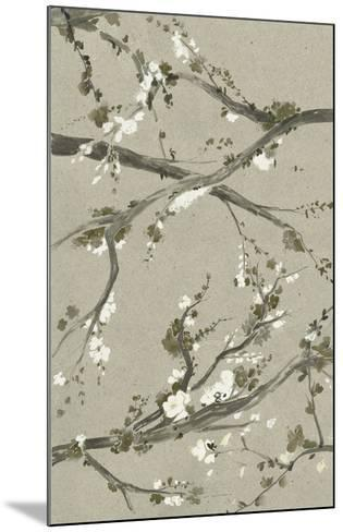 Neutral Cherry Blossoms I-Grace Popp-Mounted Giclee Print