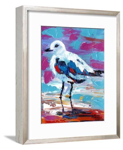 Seaside Birds II-Carolee Vitaletti-Framed Art Print