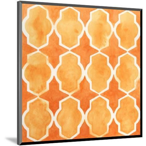 Watercolor Tiles IX-June Erica Vess-Mounted Art Print