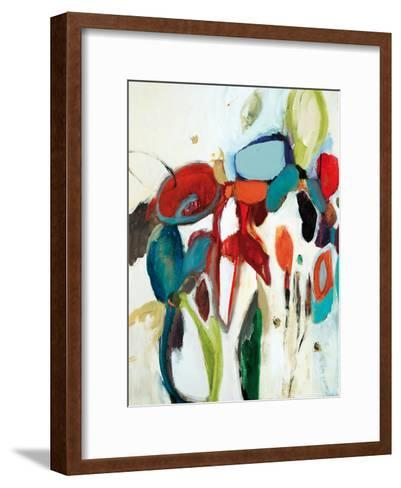 Floral Hints-Lisa Ridgers-Framed Art Print