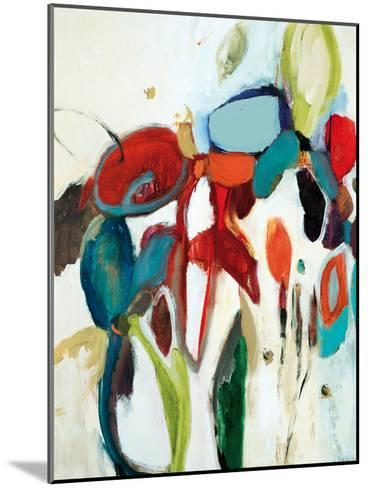 Floral Hints-Lisa Ridgers-Mounted Art Print
