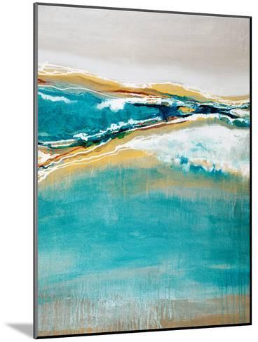 Aqua Quartz-Liz Jardine-Mounted Art Print