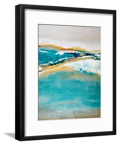 Aqua Quartz-Liz Jardine-Framed Art Print