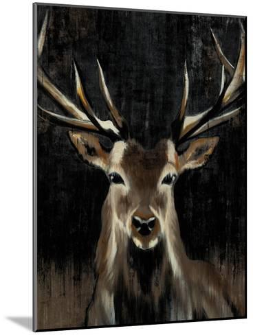 Young Buck-Liz Jardine-Mounted Art Print