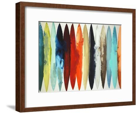 Even Flow-Randy Hibberd-Framed Art Print