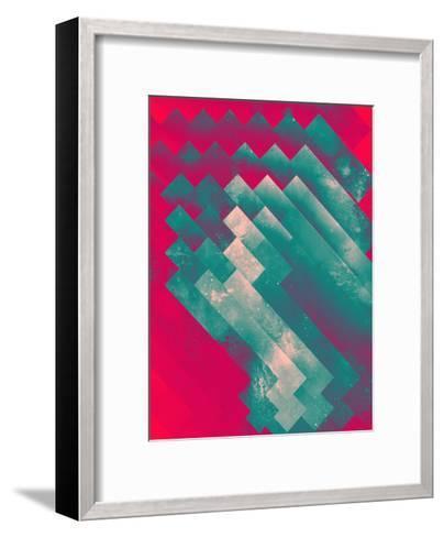 fryzyn pyssyyn-Spires-Framed Art Print