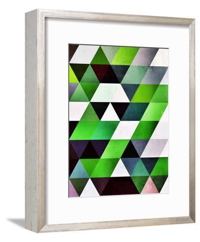 lyzzyrrd-Spires-Framed Art Print